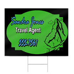 Travel Agent Sign