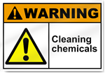 Cleaning Chemicals Warning Signs