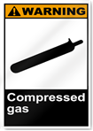 Compressed Gas Warning Signs