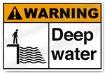 Deep Water Warning Signs