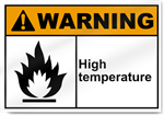 High Temperature Warning Signs