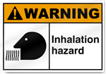 Inhalation Hazard Warning Signs