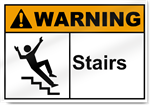 Stairs Warning Signs