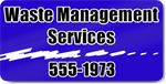 Waste Management Services Magnet
