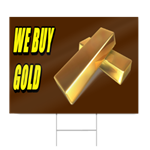 We Buy Gold Sign