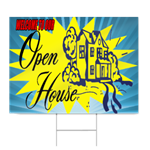 Welcome To Our Open House 2 Sign